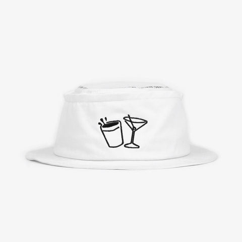White Destinations Cruise Hat - Bad Goods