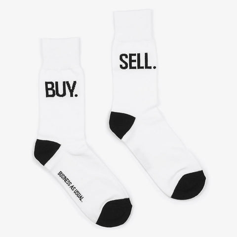 White Business Socks - Bad Goods