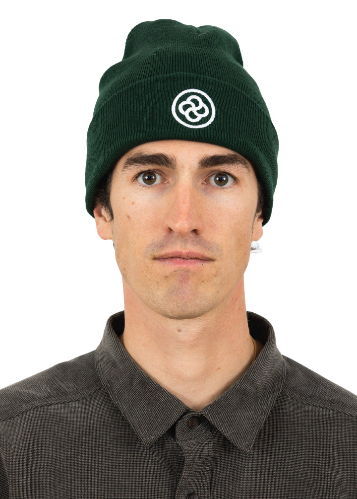 Bloom Outerwear Green Beanie Hat