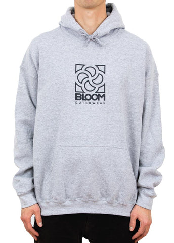 Bloom Outerwear Basics Hoodie Heather Gray