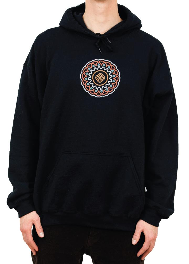 Bloom Outerwear Black Hoodie