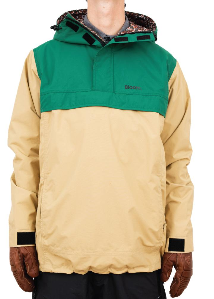 bloom outerwear timberline anorak ski jacket