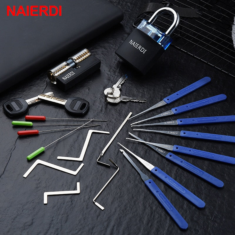 The Ultimate Lock Pick Set