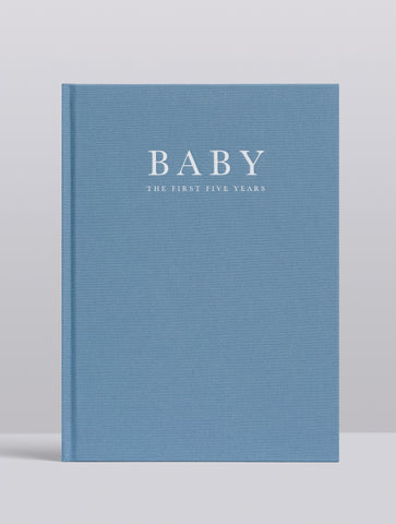 BABY. BIRTH TO FIVE YEARS. BLUE