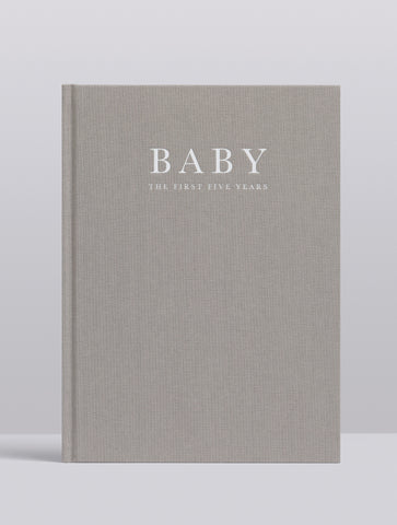 BABY. BIRTH TO FIVE YEARS. GREY