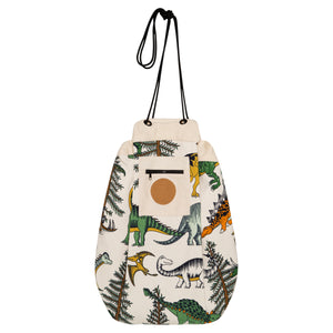 Dino Raw Printed Play Pouch