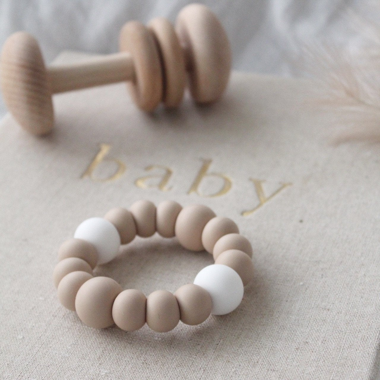 Pre Order - Basic Teether - Nude