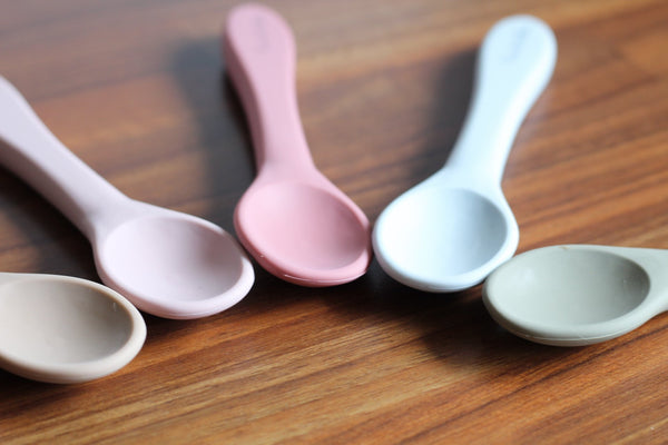 Pre Order - All Silicone Spoon - Dusty Sage