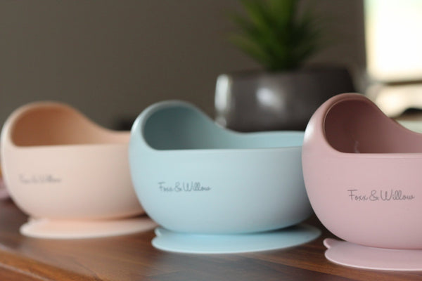 Pre Order - Your Bowl + Spoon - Dusty Blue