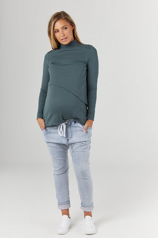 RENDERED NURSING TOP (FORREST)