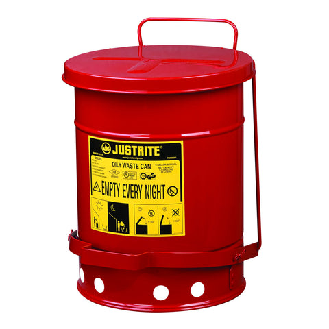 20ltr Foot Operated Oily Waste Can