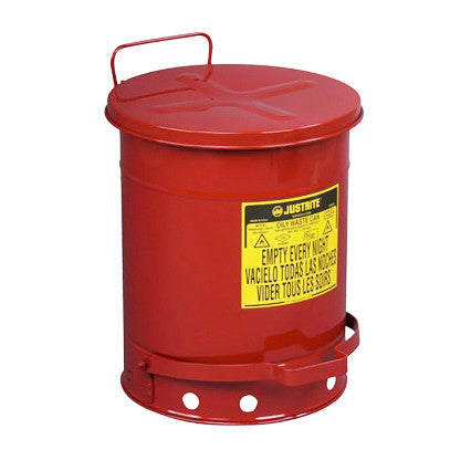52ltr Foot Operated Oily Waste Can