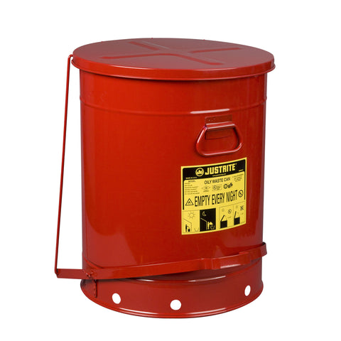 80ltr Foot Operated Oily Waste Can