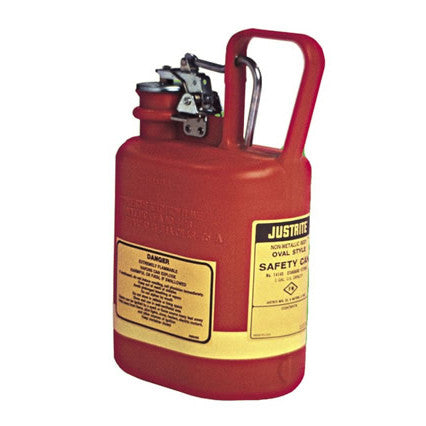4ltr Type I Safety Can - Polyethylene