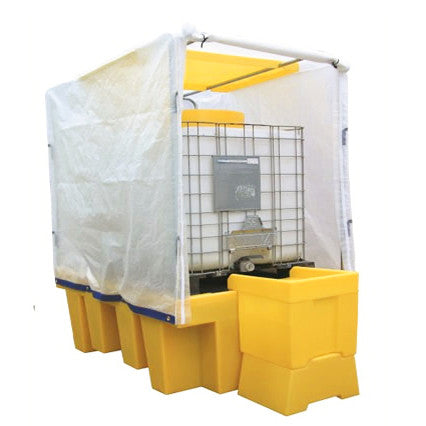 1 IBC Covered Spill Pallet