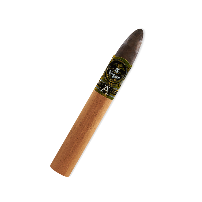 5 Vegas - Series A - Alpha (Torpedo) - Box of 20 - CigarsCity.com