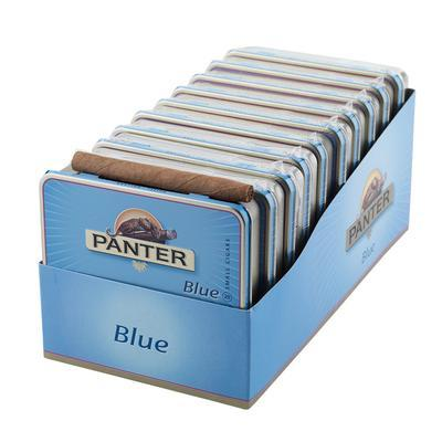 "PANTER Blue Cigarillo (3""x21) - Tin of 20/Pack of 200 - CigarsCity.com"