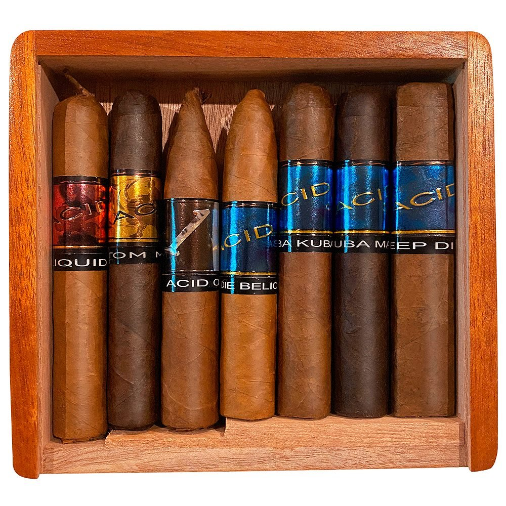 Acid: Seven Wonders Sampler - 7 Cigars - CigarsCity.com