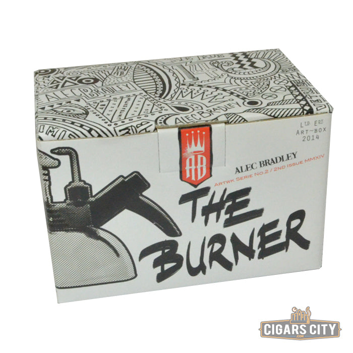"Alec Bradley Table Top Cigar Torch Lighter - ""The Burner"" - CigarsCity.com"