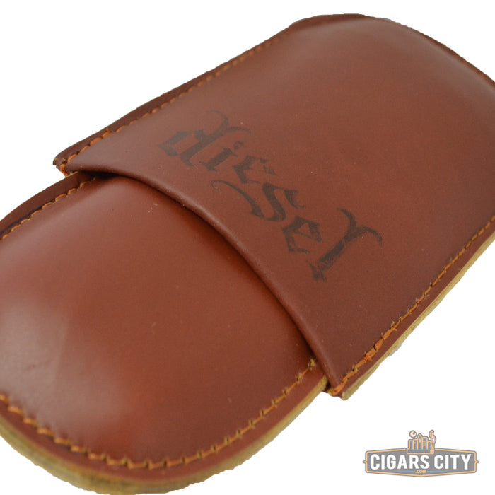 Diesel 2-Finger Leather Cigar Case - CigarsCity.com