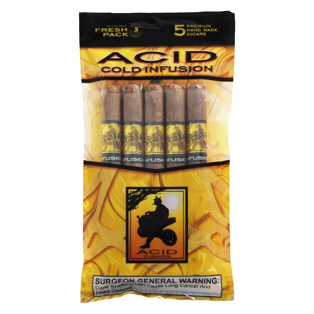 Acid Cold Infusion Cigars - 5 Cigar Humi-pack - CigarsCity.com