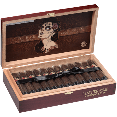 "Drew Estate Deadwood Torpedo ""Leather Rose"" (5.0"" x 54) - CigarsCity.com"