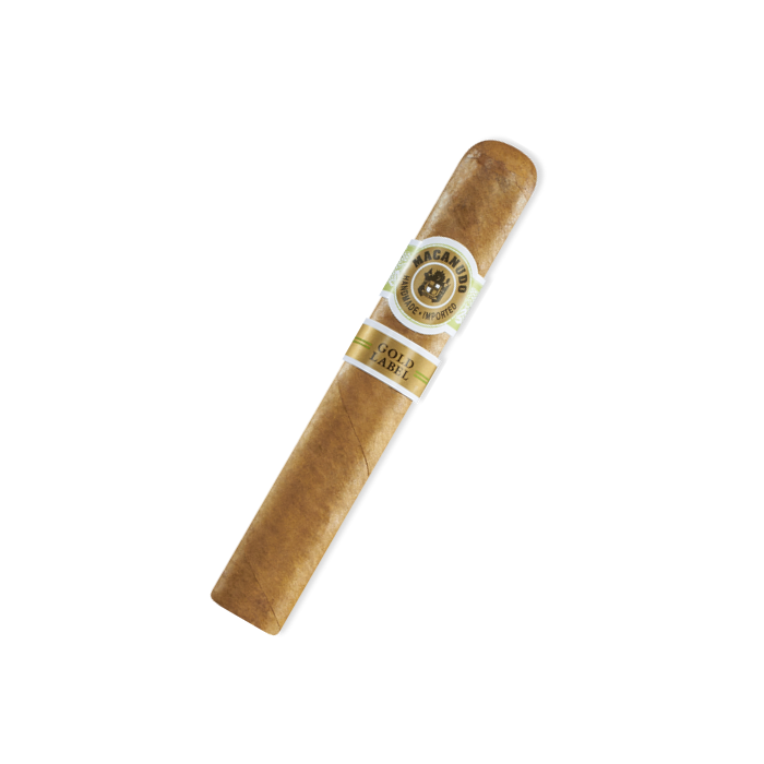 Macanudo - Gold Label - Crystal Tubos (Robusto) - Box of 8 - CigarsCity.com