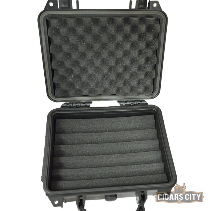 Gurkha Black Tactical Cigar Case - CigarsCity.com