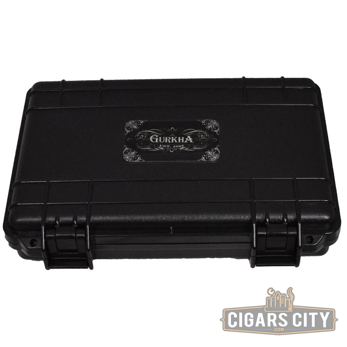 Gurkha Cigar Case - (5 Capacity) - CigarsCity.com