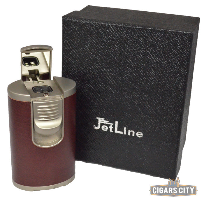 JetLine DT-101 Quad Tabletop Lighter - CigarsCity.com