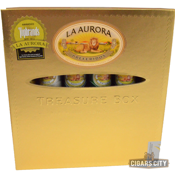 La Aurora Preferidos Treasures Cigar Sampler - CigarsCity.com