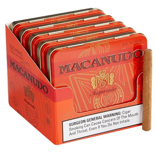 Macanudo Inspirado Orange Mini (Cigarillo) Tin of 20 - CigarsCity.com