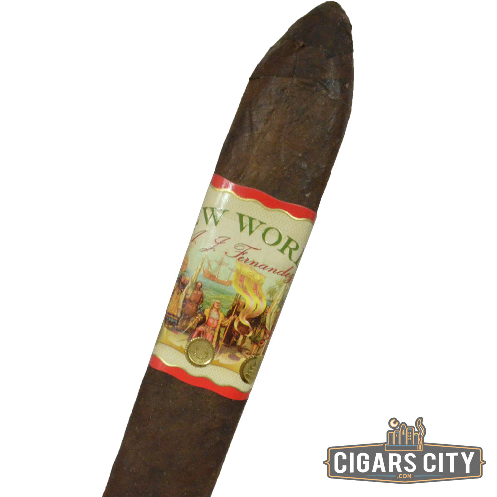 AJ Fernandez New World Connecticut (Belicoso) - CigarsCity.com