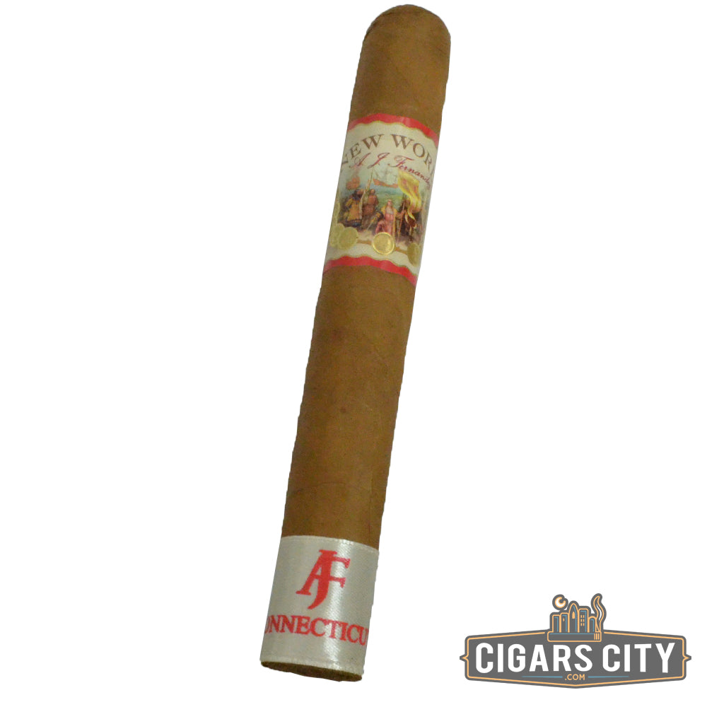 "AJ Fernandez New World Connecticut 6.0""x52 (Toro) - CigarsCity.com"