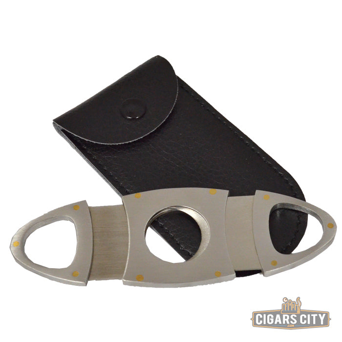 Stackhouse Stainless Guillotine Cigar Cutter - CigarsCity.com