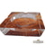 Tobacco Leaf Crystal Ashtray - CigarsCity.com