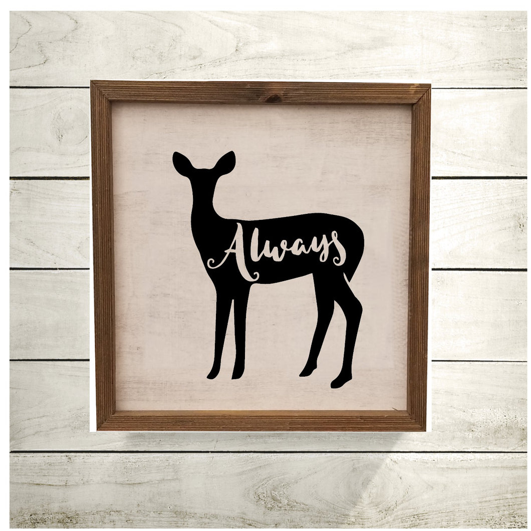Always HP Deer - Sign