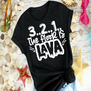 3 2 1 The Floor is Lava - Shirt