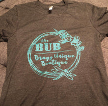Load image into Gallery viewer, Bragg Unique Boutique Volunteer Shirt