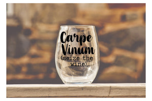 Carpe Vinum - Wine Glass