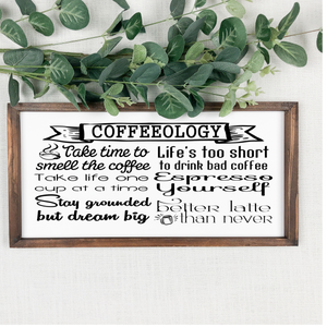 Coffeeology Sign
