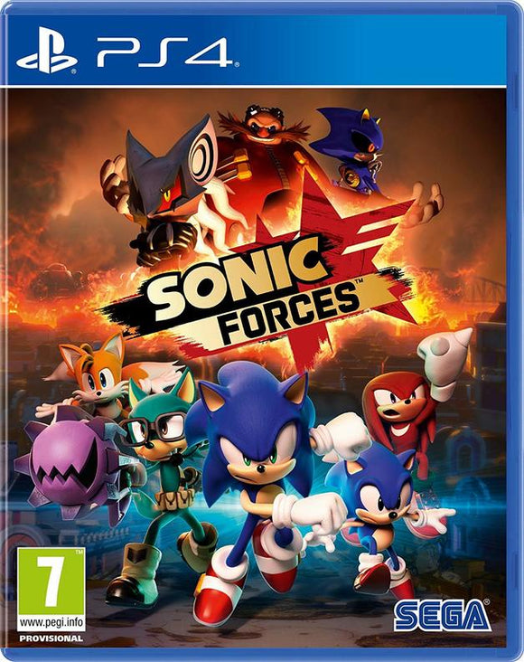 Sonic Forces -Playstation 4