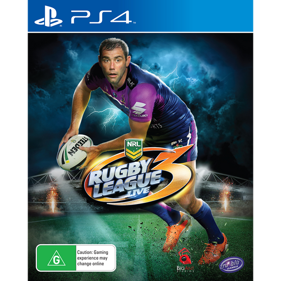 Rugby League Live3- Playstation 4 Game