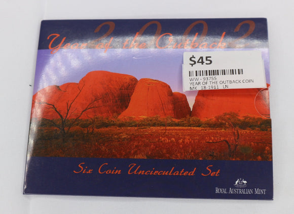 2002 ROYAL AUSTRALIAN MIN SILVER YEAR OF THE OUTBACK
