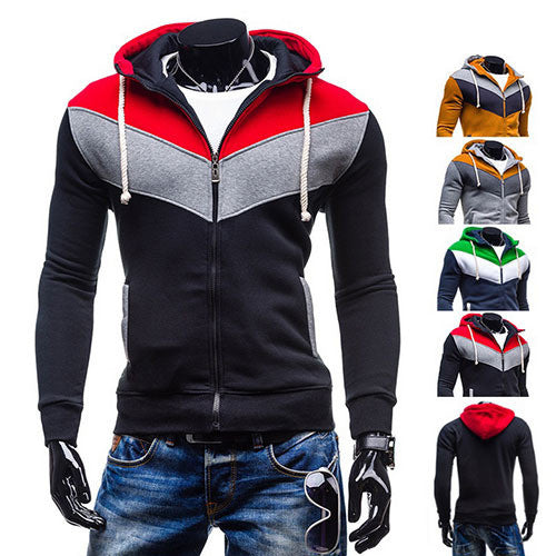 Assassin Tri Color Zip Hoodie