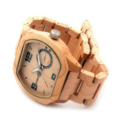 Woody on Wrist: Wooden Strap Watch