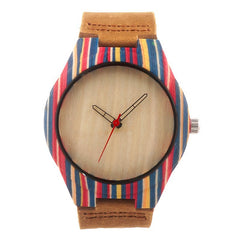Woody on Wrist: Wooden Rainbow Watch