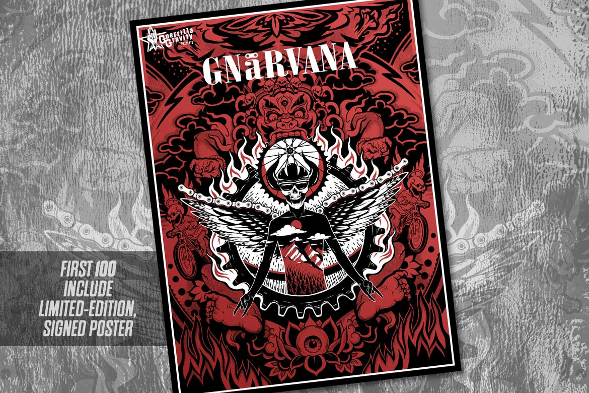 Gnarvana Limited-Edition Poster