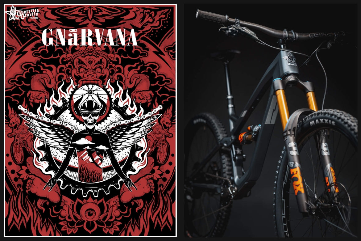 Gnarvana Limited Edition Poster by Travis Gillan