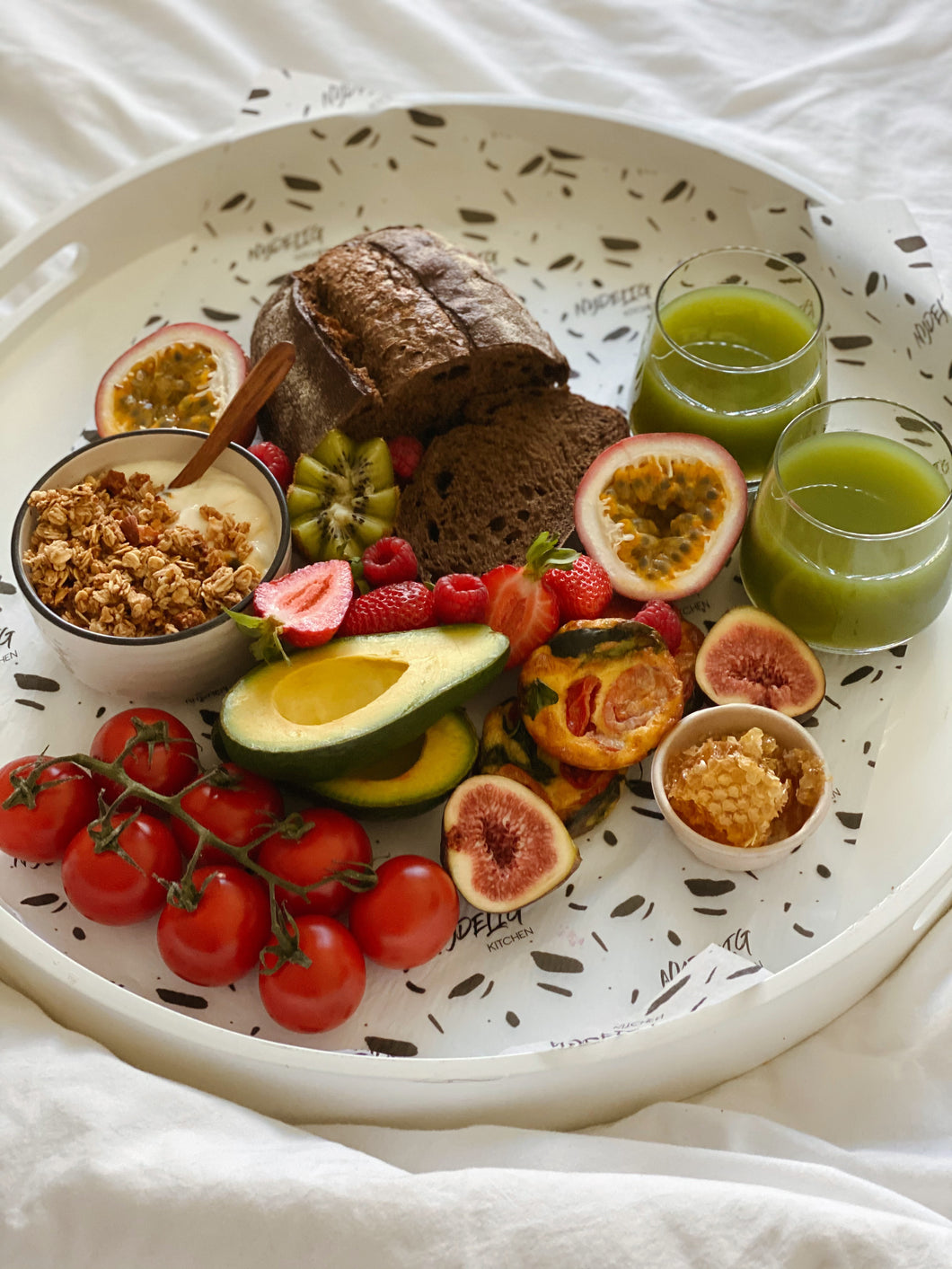 Healthy Start Breakfast (serves 2)